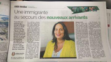 Yajanna Pupo, immigrante au secours des nouveaux arrivants
